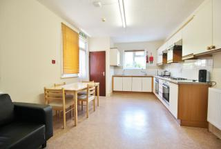 Kitchen with breakfast area
