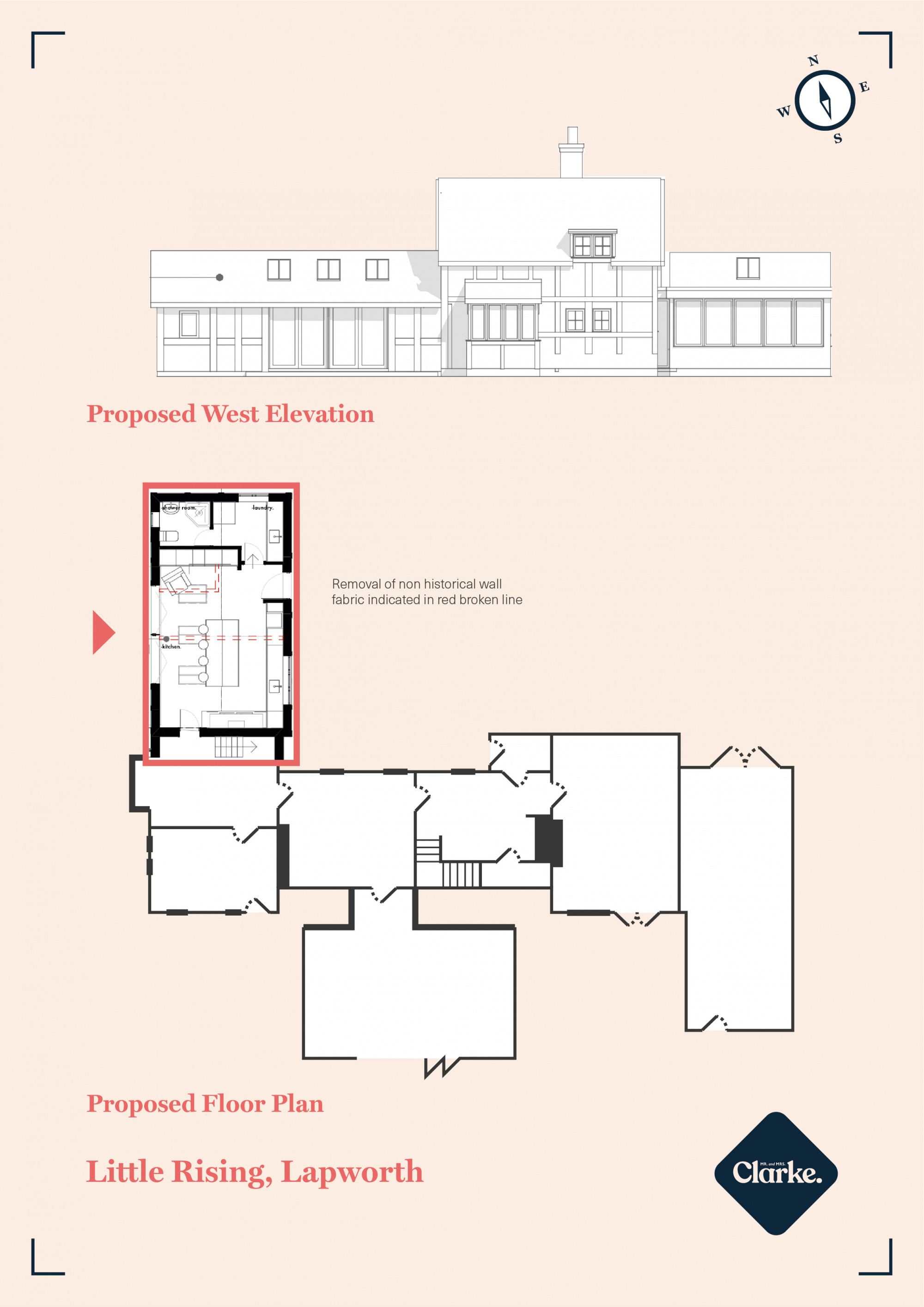 Rising Lane, Lapworth. Floorplan.