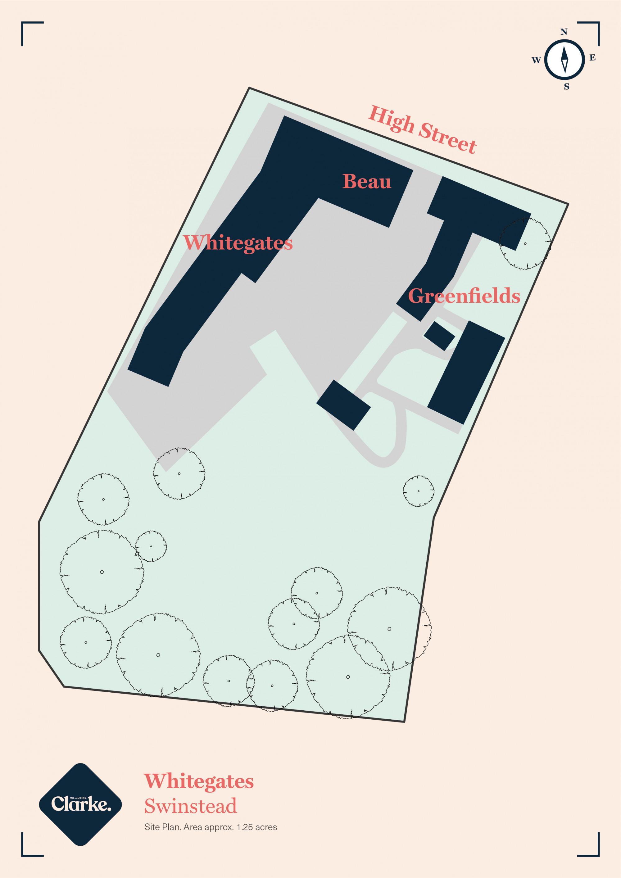 Whitegates, Swinstead. Floorplan.