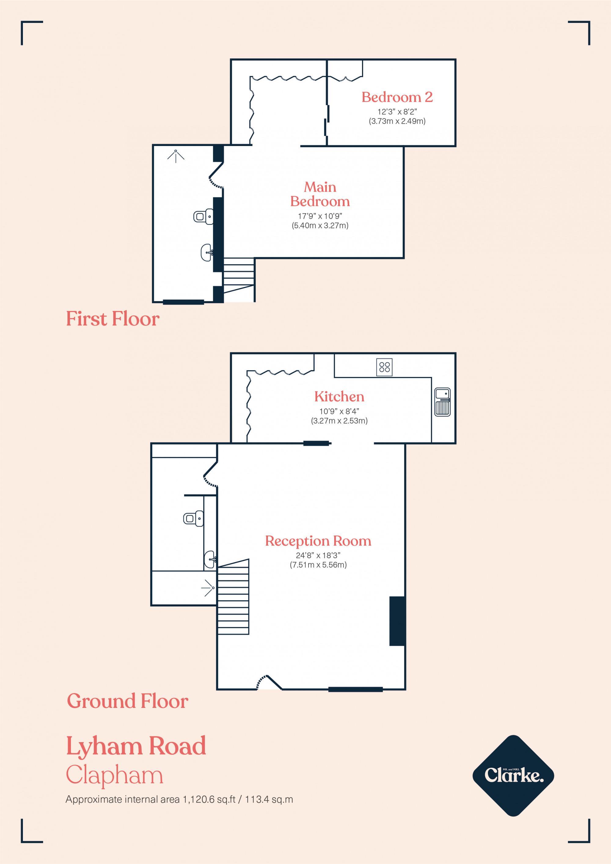 Park Lofts, Clapham. Floorplan.