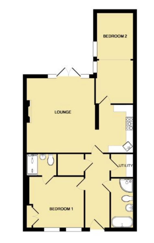 Bertie Terrace, Leamington Spa. Floorplan.