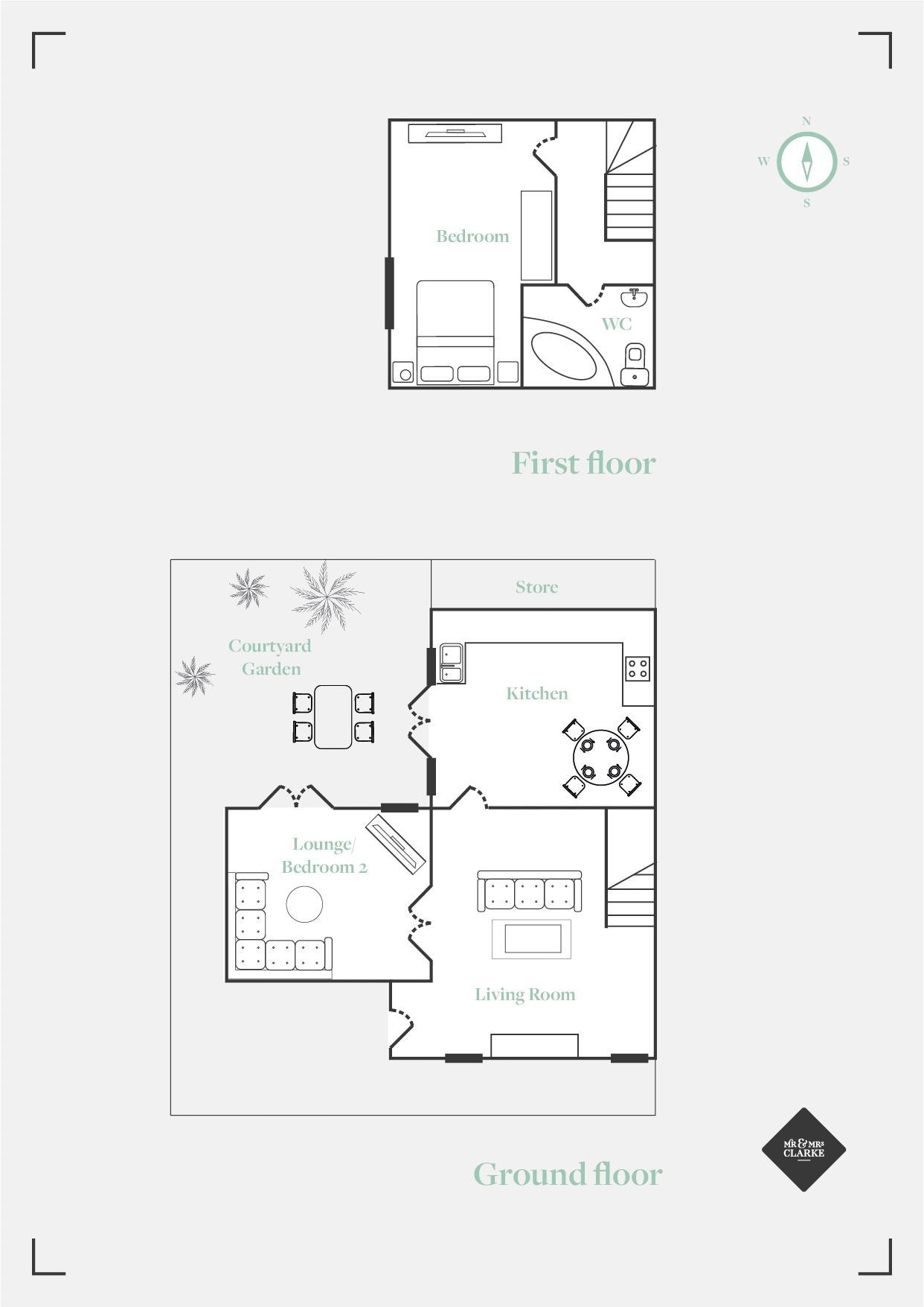 The Malthouse, Meriden. Floorplan.