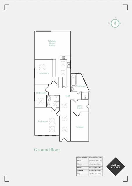 Lightwood Close, West Midlands. Floorplan.