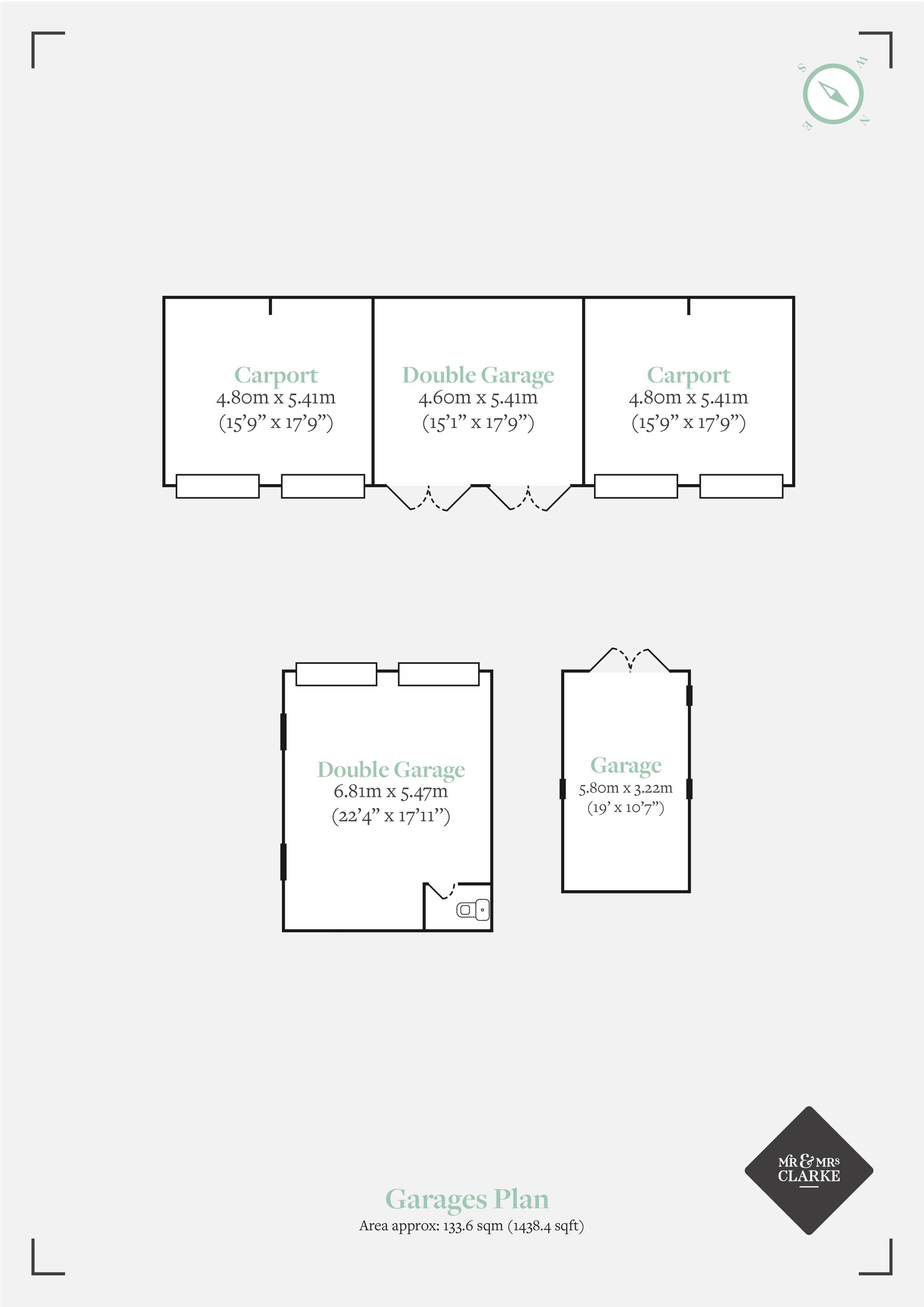 Croft Cottage, Solihull. Floorplan.
