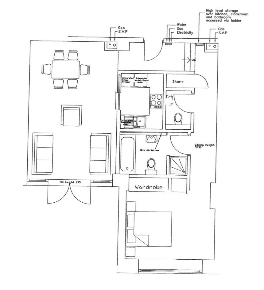 Ludgate Lofts, West Jewellery Quarter. Floorplan.