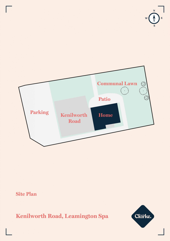 Kenilworth Road, Leamington Spa. Floorplan.