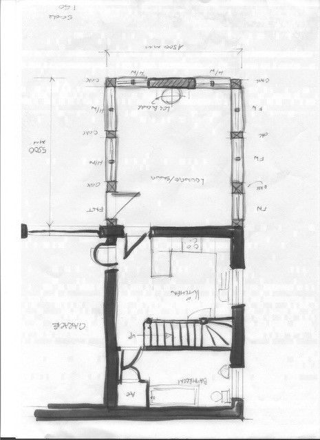 The Willows, Chadwick End. Floorplan.