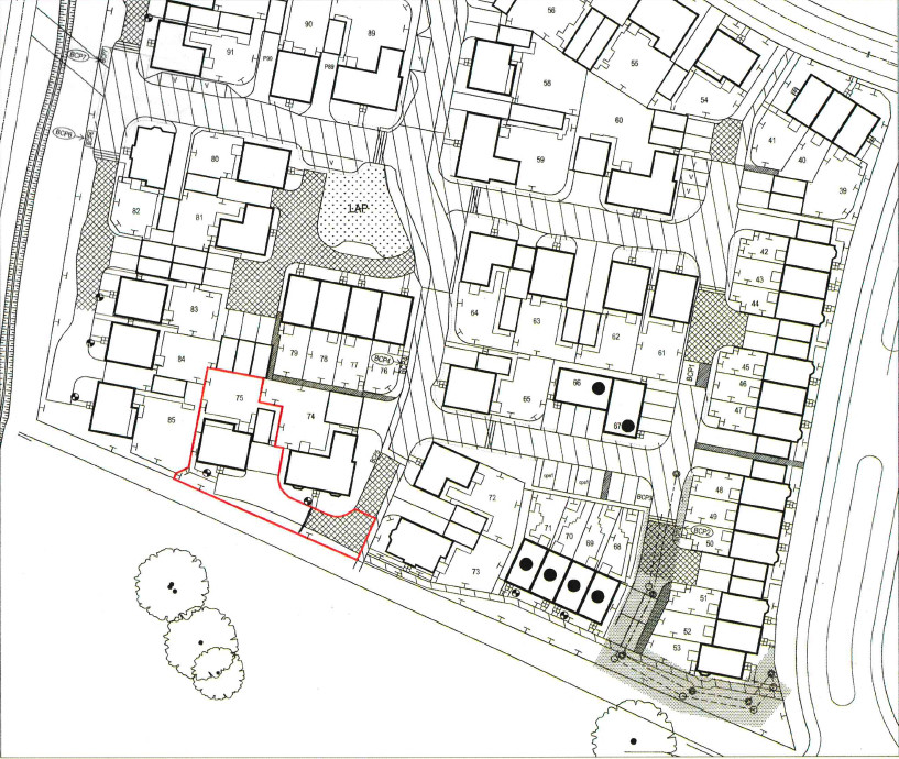 Kempton Close, Bicester. Floorplan.