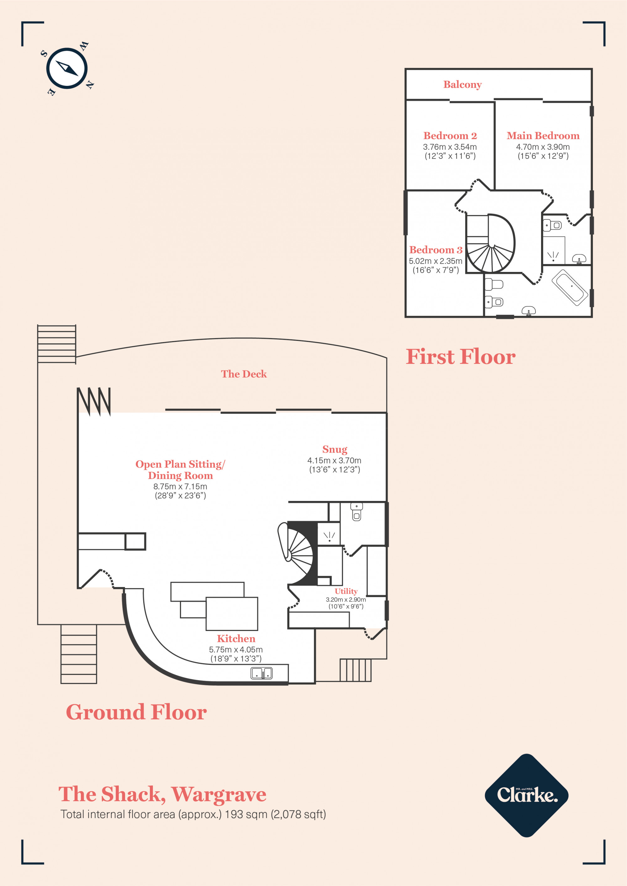 The Shack, Wargrave. Floorplan.